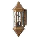 Elstead Brighton HK/BRIGHTON1/L  Solid Brass Large Wall Lantern
